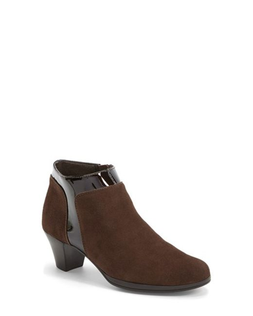 Munro | Brown 'hope' Boot | Lyst