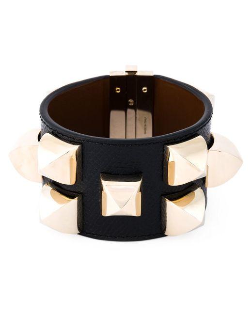 Givenchy   Black Studded Cuff   Lyst