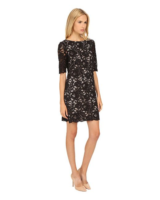 Kate Spade Lace Shift Dress In Black Save 20 Lyst