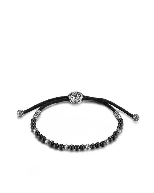 John Hardy | Classic Chain Bead Bracelet With Black Onyx for Men | Lyst