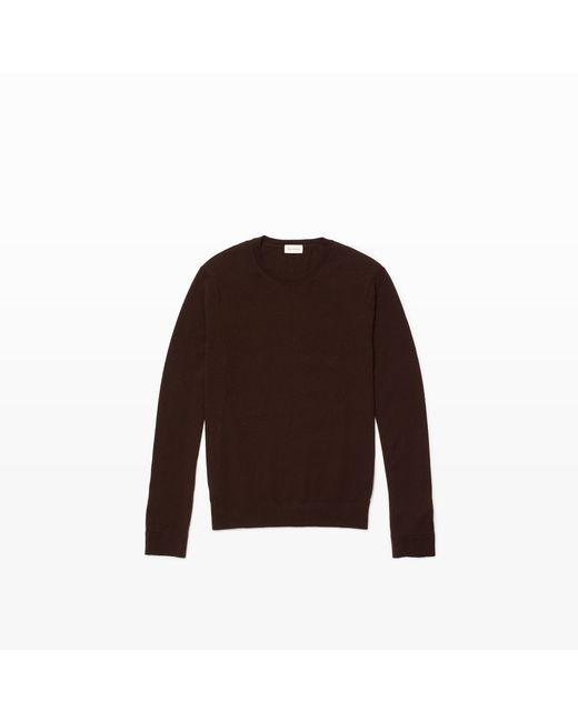 Club Monaco   Purple Merino Crewneck Sweater for Men   Lyst