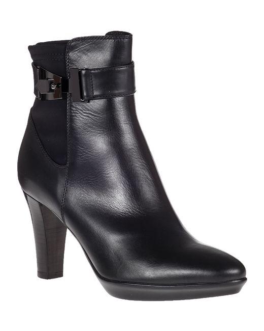 Aquatalia   Riyan Ankle Boot Black Leather   Lyst