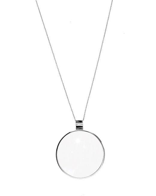 DINA KAMAL DK01 | Diamond & Black-Gold Loupe Necklace | Lyst