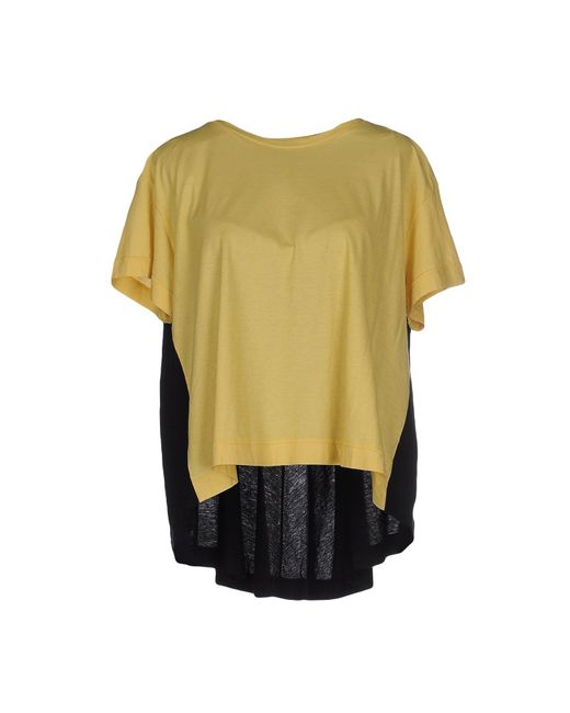 Almeria | Yellow T-shirt | Lyst