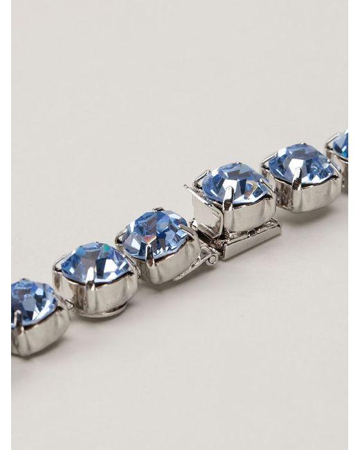 Tom Binns | Blue Long 3 Strand Crystal Necklace | Lyst