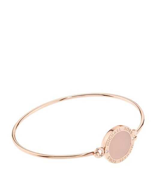 Michael Kors | Pink Blush Disc Bangle | Lyst