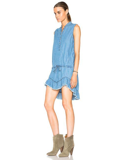 Nsf Clothing Lilith Dress In Blue Lyst