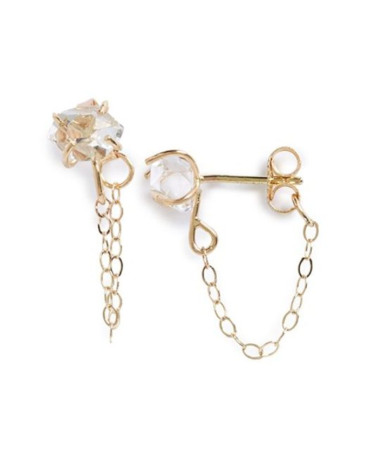 Melissa Joy Manning | Yellow Stone Ear Chains | Lyst