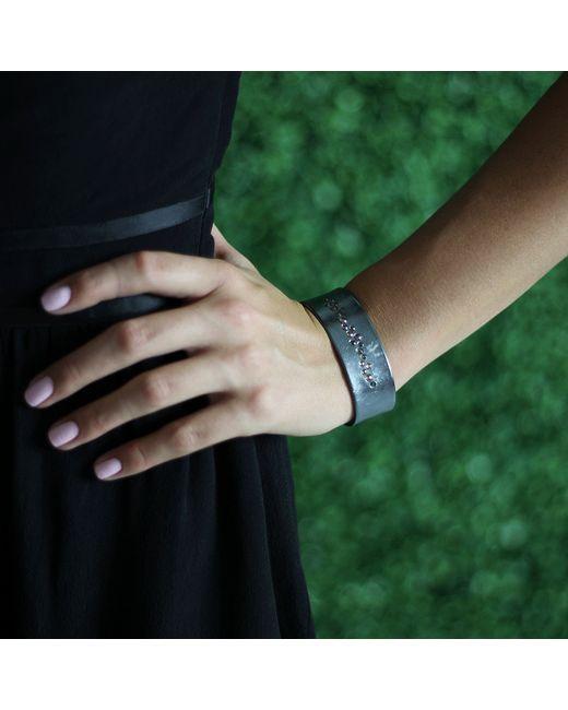 Todd Reed | Metallic Cognac Diamond Cuff Bracelet | Lyst
