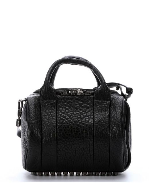 Alexander Wang | Black Mini Rhodium Rockie | Lyst