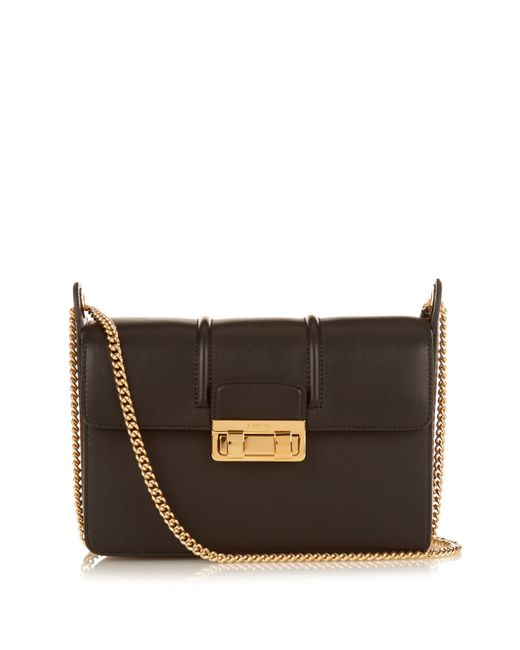 Lanvin | Black Jiji Small Leather Shoulder Bag | Lyst