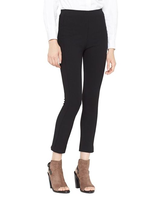Rag & Bone | Black 'simone' Slim Ankle Pants | Lyst