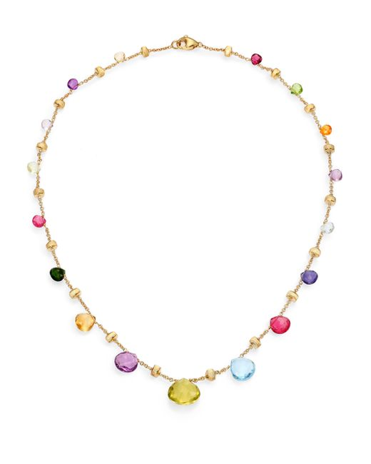 Marco Bicego | Metallic Paradise Semi-precious Multi-stone & 18k Yellow Gold Necklace | Lyst