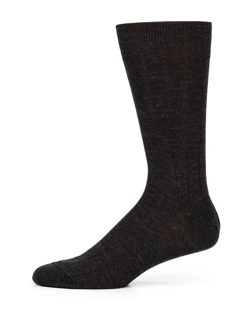 Saks Fifth Avenue | Gray Stretch-wool Dress Socks for Men | Lyst