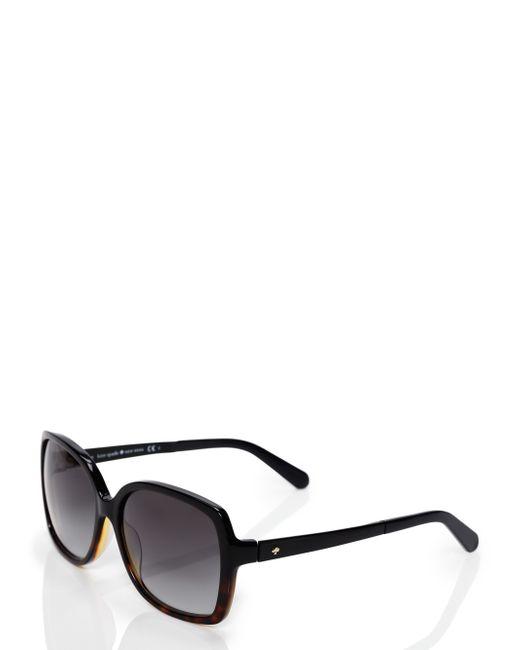 kate spade new york | Black Darilynn Sunglasses | Lyst