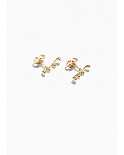 & Other Stories | Metallic Crawler Earrings | Lyst