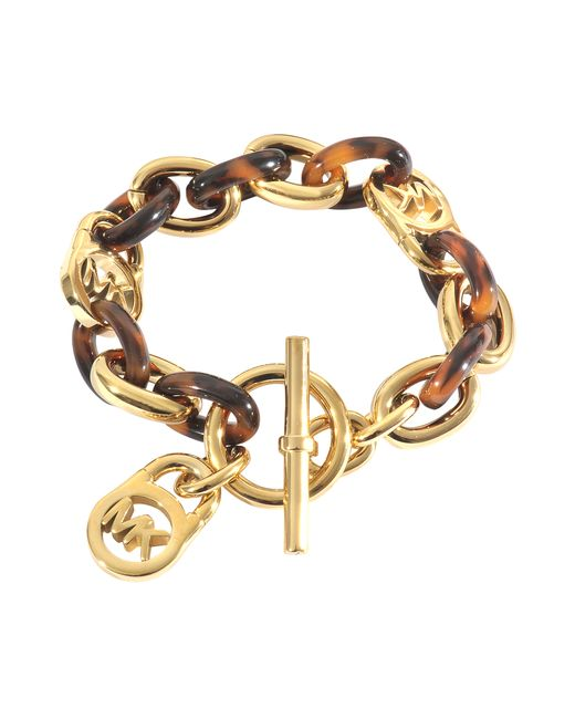 MICHAEL Michael Kors | Metallic Armband Heritage | Lyst