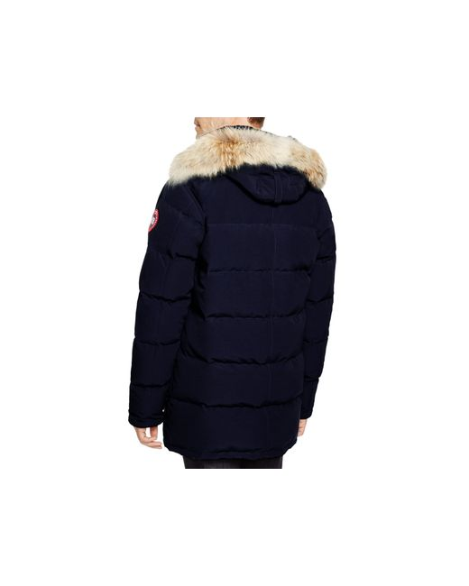 Canada Goose trillium parka outlet shop - Canada goose Carson Down Parka in Blue (Navy) | Lyst