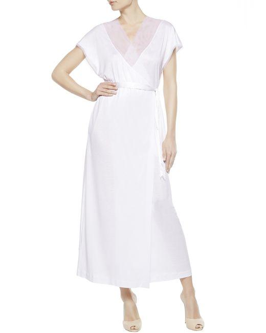 La Perla | White Night Robe | Lyst
