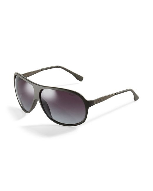 Guess | Metallic Teardrop Matte Sunglasses for Men | Lyst