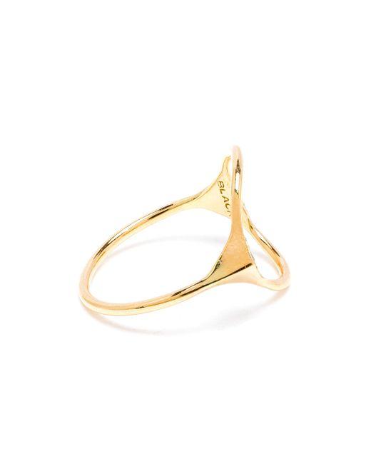 Maria Black | Metallic 18k Yellow Gold Spike Monocle Diamond Ring | Lyst