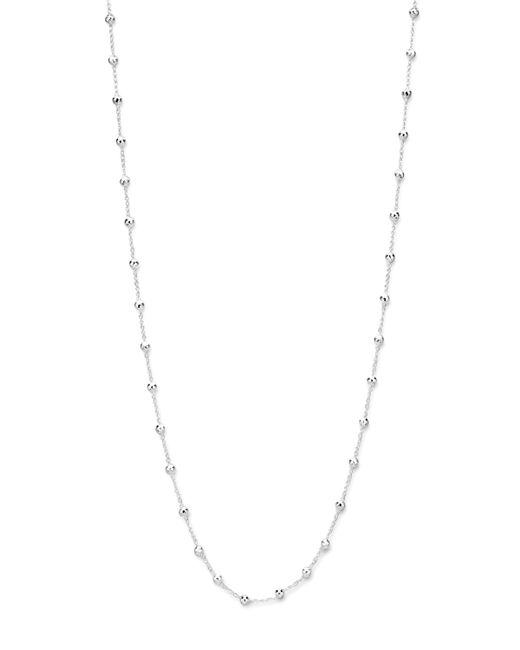 Ippolita | Metallic Sterling Silver Station Necklace | Lyst