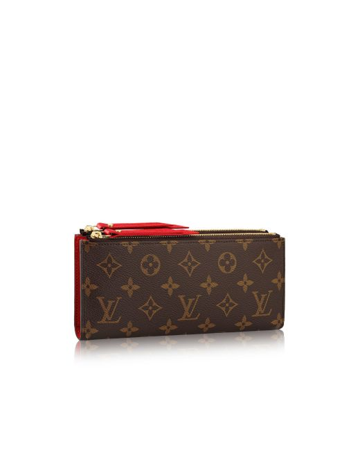 Louis Vuitton | Brown Adele Wallet | Lyst