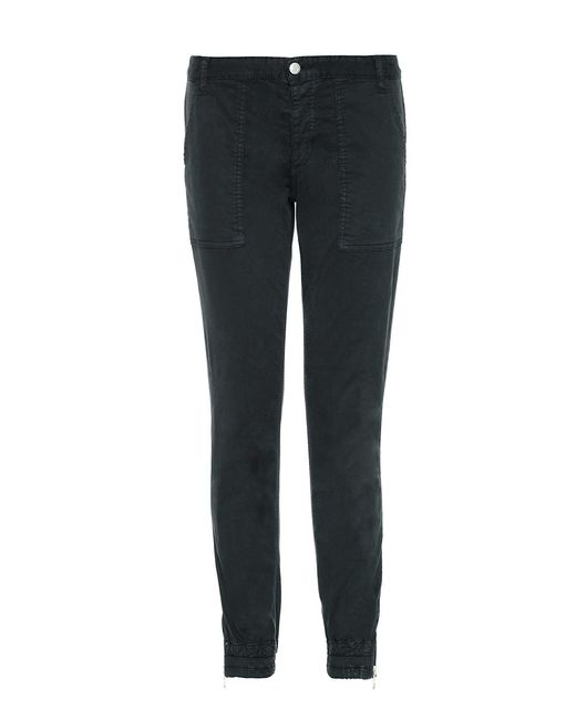 Joe's Jeans | Black Slim Tapered-leg Pants | Lyst