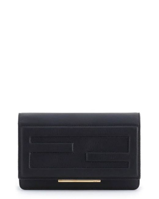 Fendi | Black Wallet On A Chain | Lyst