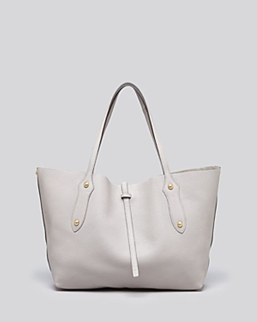 Annabel Ingall | Gray Isabella Small Leather Tote | Lyst
