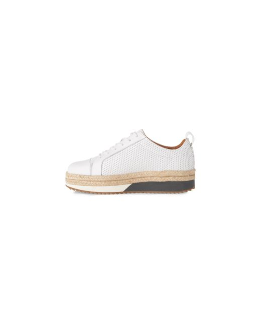 Whistles | White Melby Espadrille Trainer | Lyst