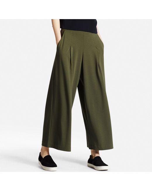Model Uniqlo Casual Pants In Blue  Lyst