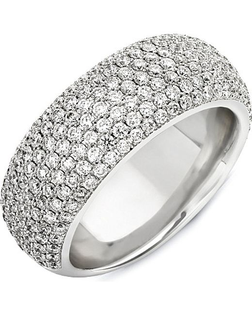 Theo Fennell | Metallic 18ct White Diamond Spangle Ring | Lyst