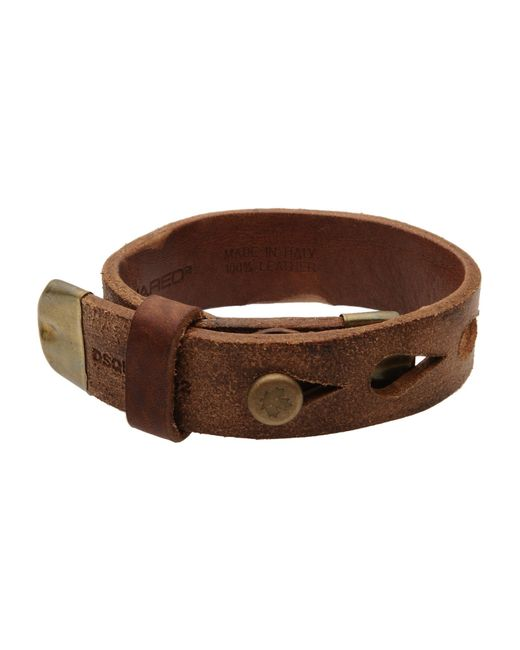 DSquared² | Brown Bracelet for Men | Lyst