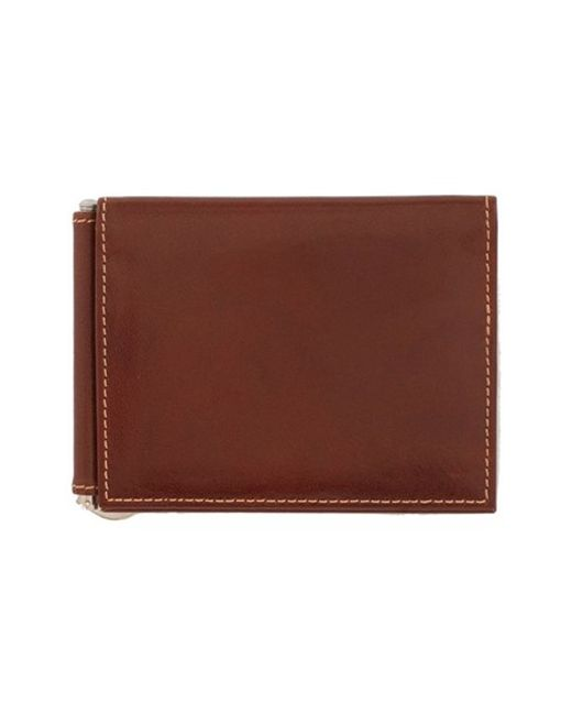 Trafalgar | Brown 'cortina' Money Clip Wallet for Men | Lyst