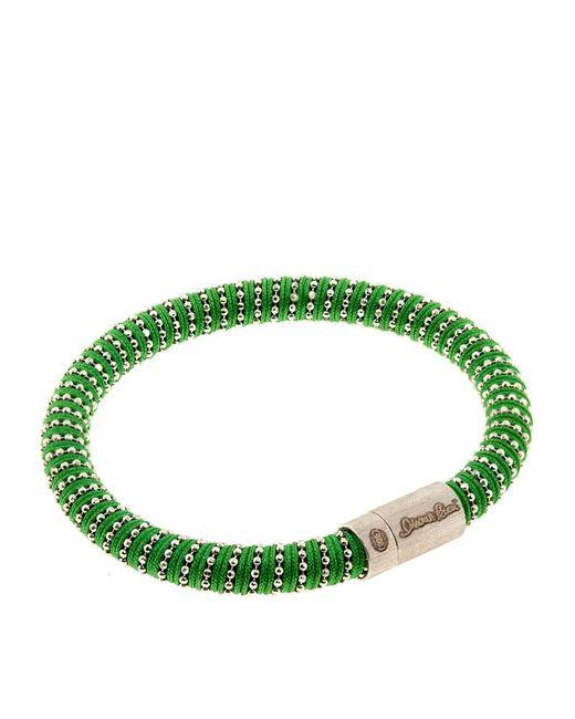 Carolina Bucci | Green Twister Bracelet Silver | Lyst