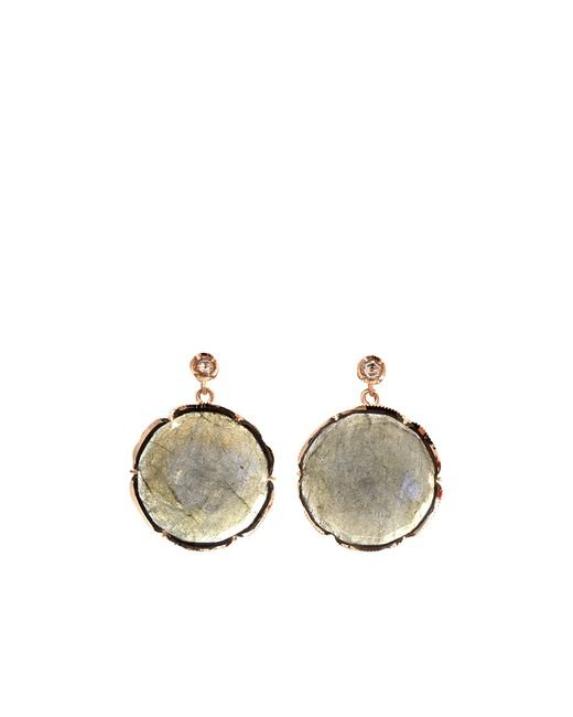Irene Neuwirth | Pink Labradorite Drop Earrings | Lyst