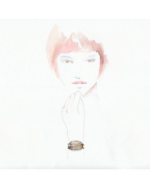 Lulu Frost | Metallic Goldtone Drift Bracelet | Lyst