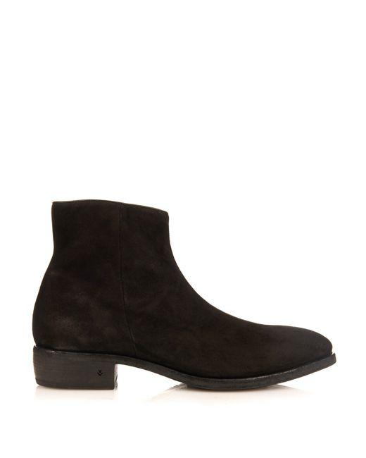 varvatos morrison boots in black for save 35