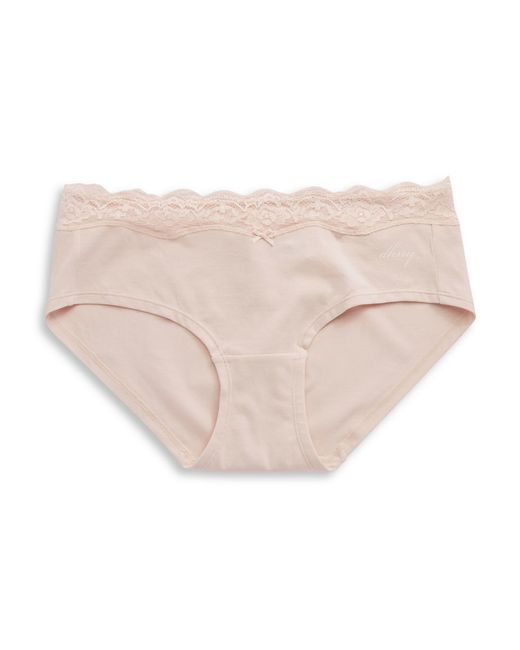 DKNY | Pink Downtown Cotton Hipster | Lyst