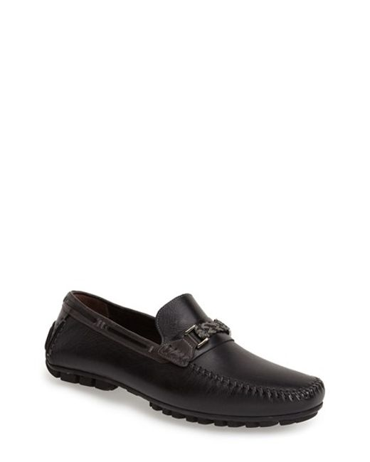 Bacco Bucci | Black 'zagreb' Venetian Loafer for Men | Lyst