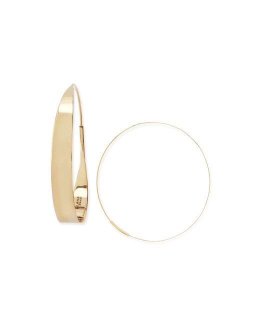 Lana Jewelry   Metallic 14k Large Glam Hoop Earrings   Lyst