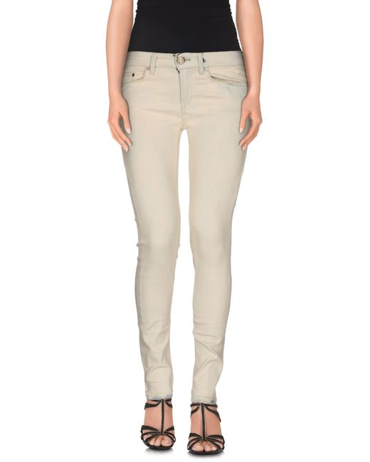 Dondup | Natural Denim Pants | Lyst