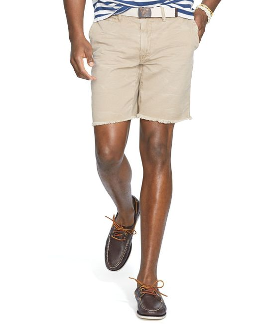 Polo Ralph Lauren | Natural Chino Maritime Shorts - Classic Fit for Men | Lyst