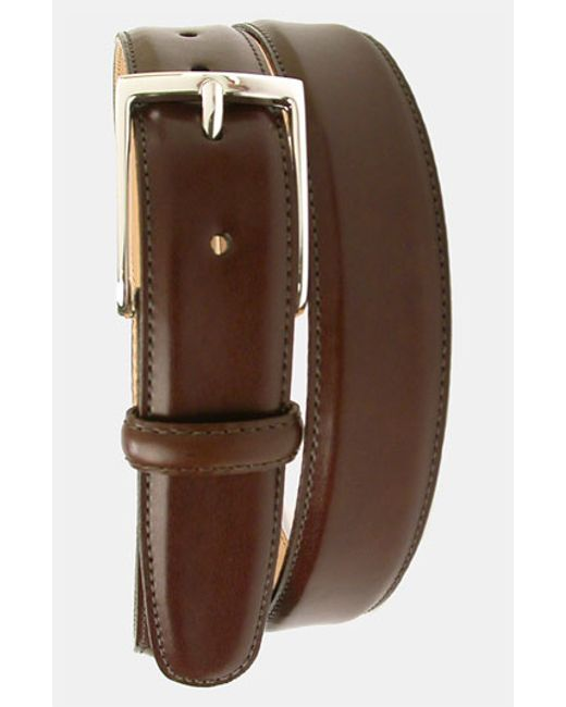 Martin Dingman | Brown 'smith' Leather Belt for Men | Lyst