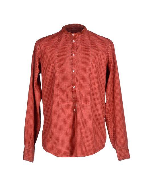 Massimo Alba | Red Shirt for Men | Lyst