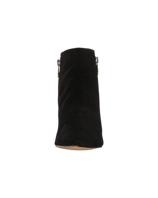 Adrienne Vittadini | Black Bob Side-zipper Ankle Booties | Lyst