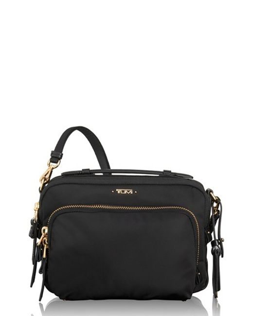 Tumi | Black 'luanda' Crossbody Flight Bag | Lyst