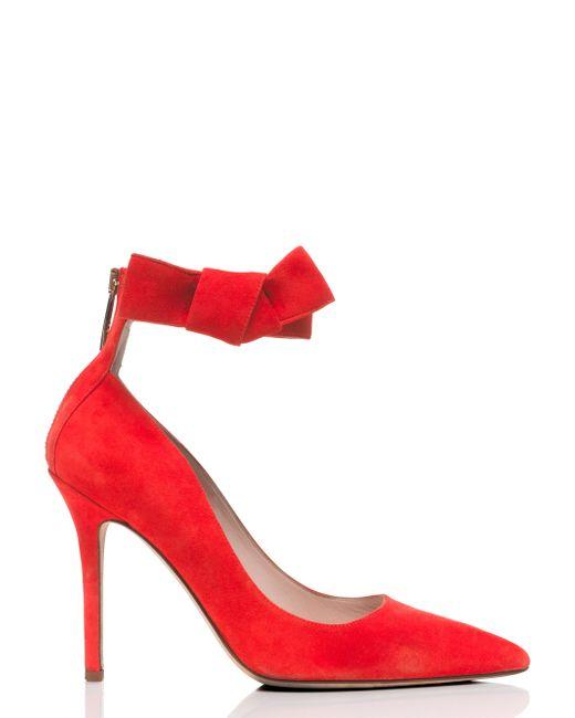 Kate Spade | Red Levie Heels | Lyst