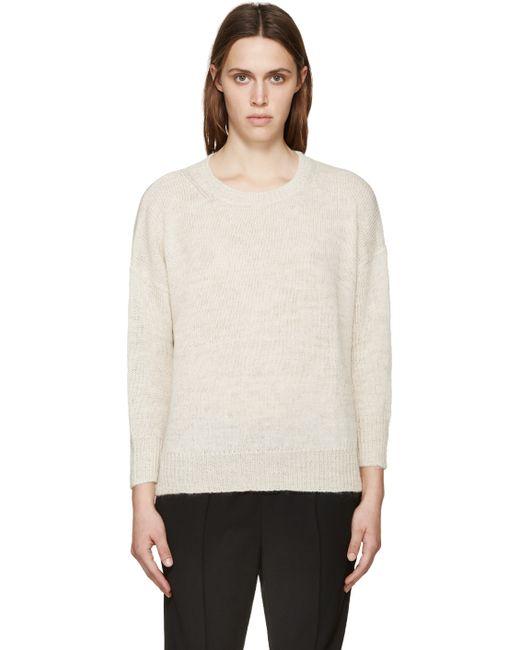 toile isabel marant beige risha sweater in beige lyst. Black Bedroom Furniture Sets. Home Design Ideas